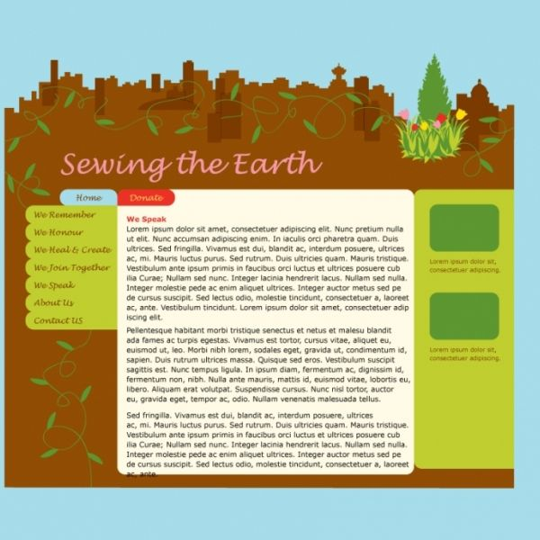 Sewing the Earth